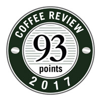 Coffee Review 93 points October 2017