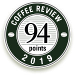 94 points Coffee Review