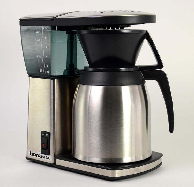Coffee Maker Under 11 Inches Tall : Bonavita 8 cup Thermal Coffeemaker BV1800SS