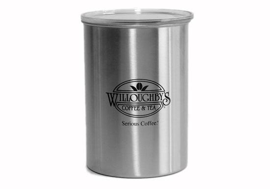 sc 1 st  Willoughbyu0027s Coffee u0026 Tea & AirScape Logo Coffee Storage Canister